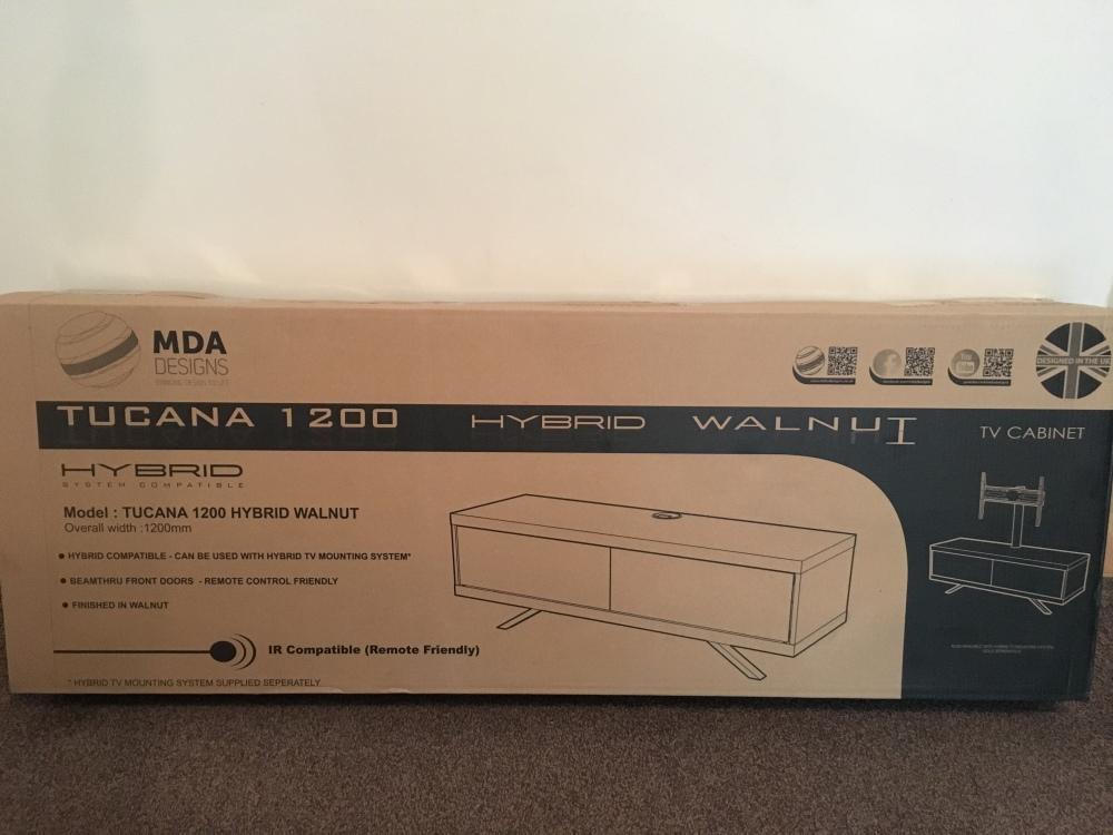 Tucana 1200 hybrid TV stand  – Something New Reviews